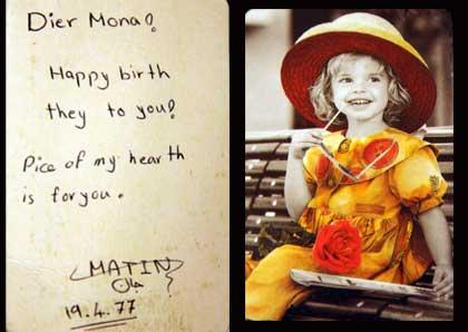 Happy birthday Mona